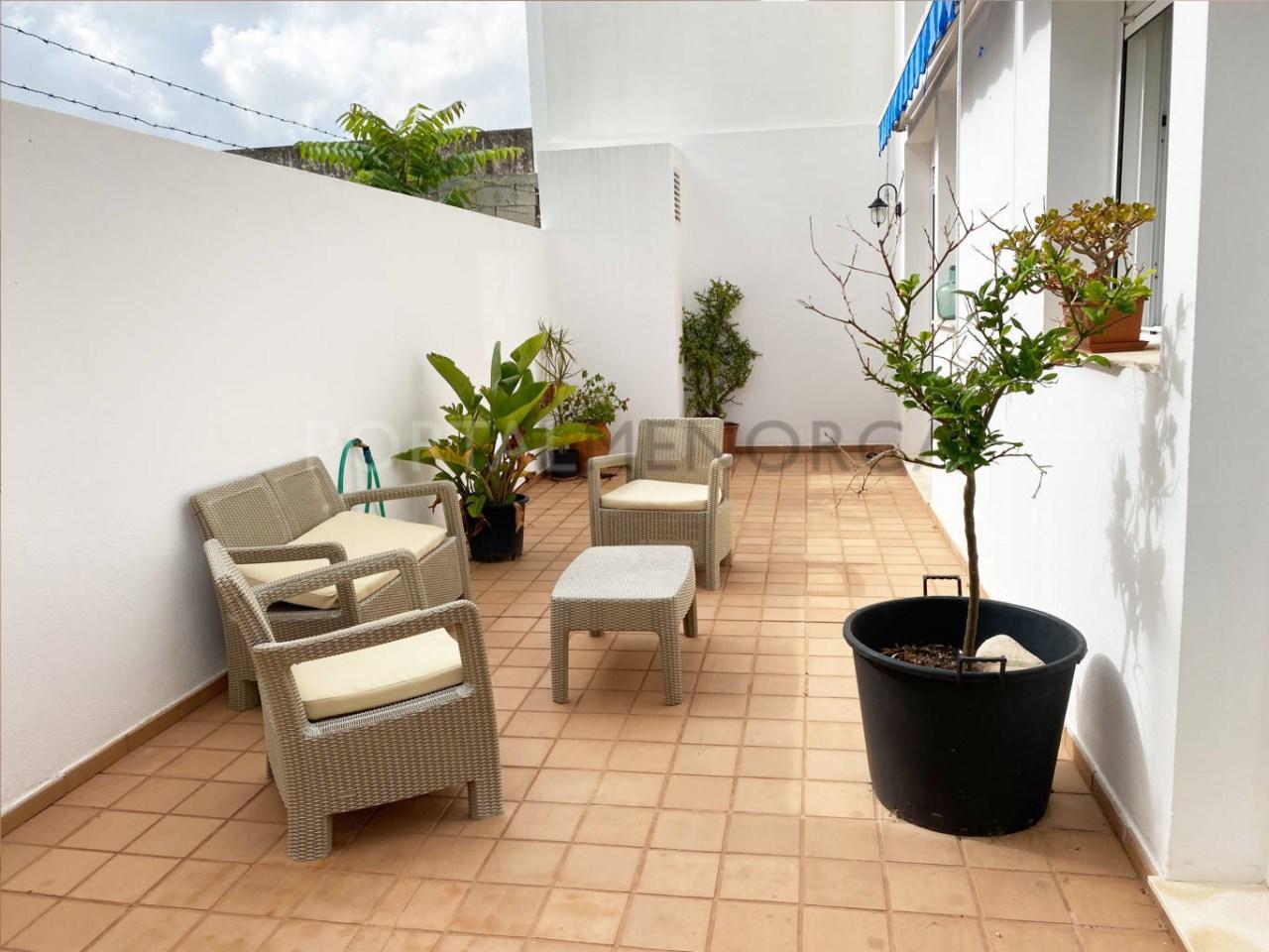 Ground floor in Ciutadella_terrace