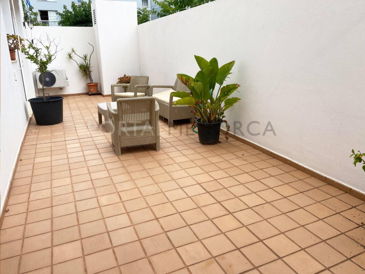 Planta baja en Ciutadella_patio