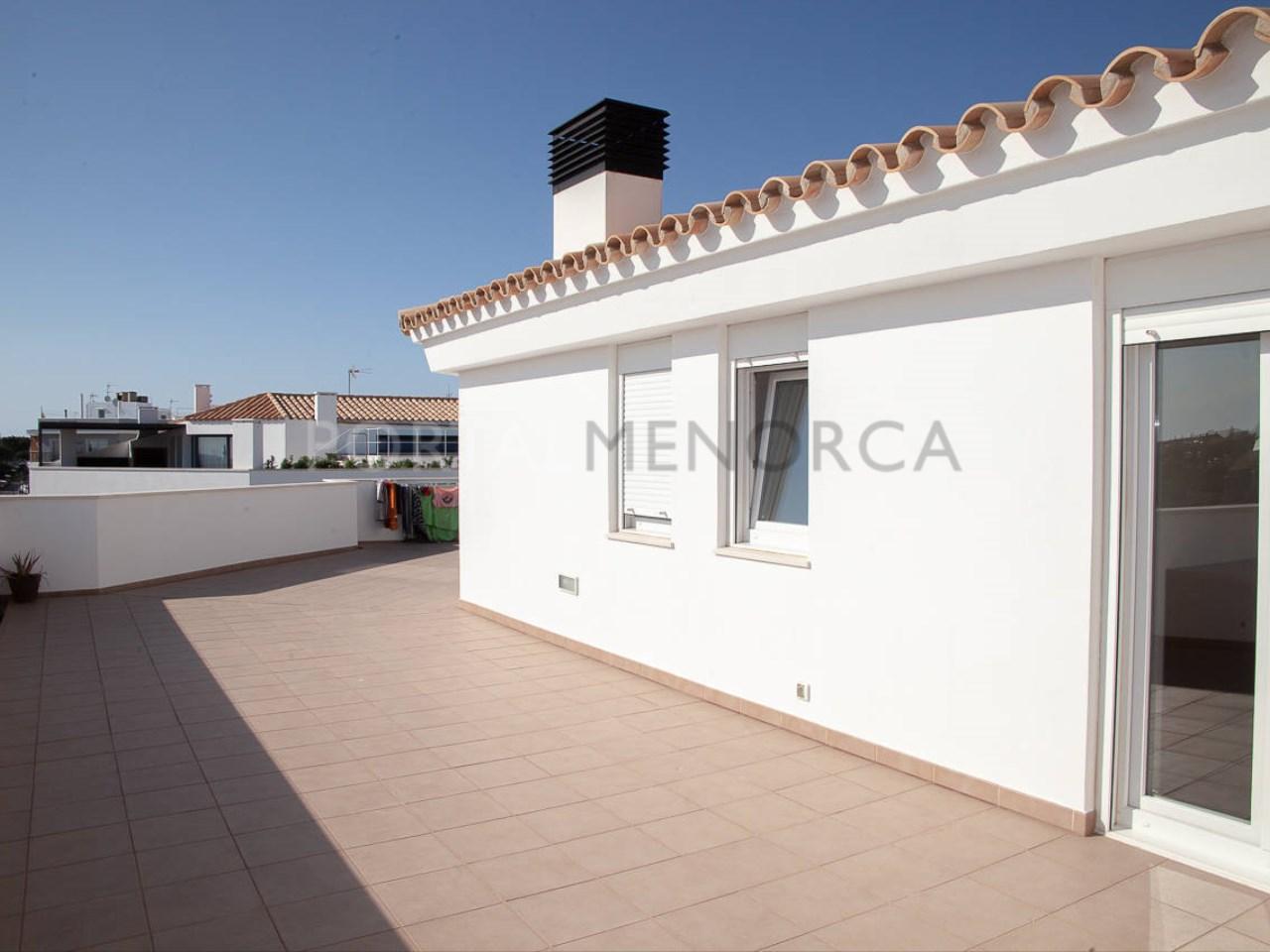 Ático en Ciutadella_terraza