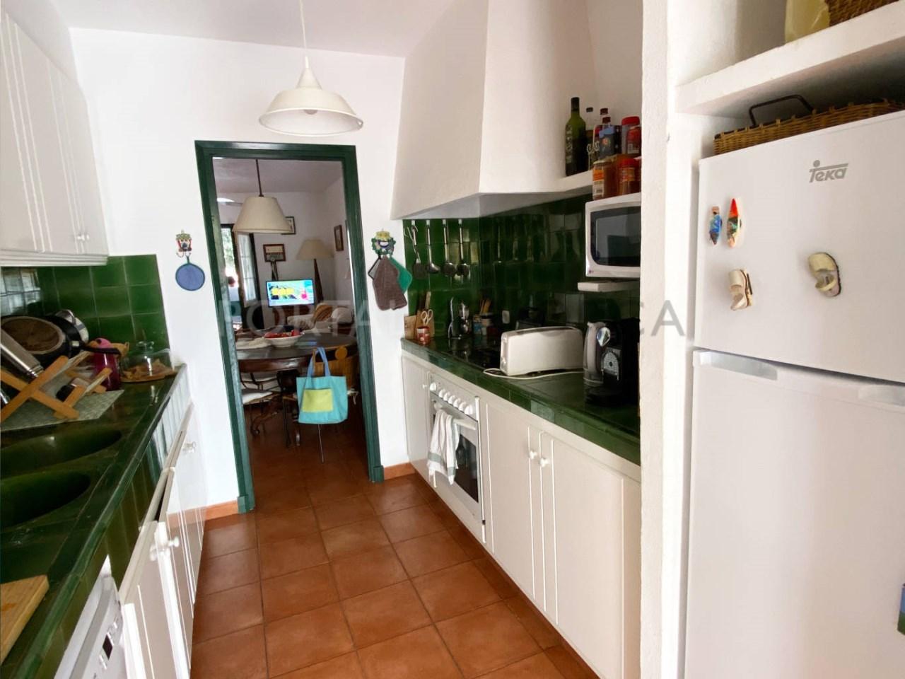 Duplex in Fornells_kitchen