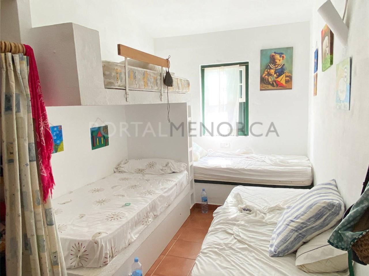Duplex in Fornells_bedroom