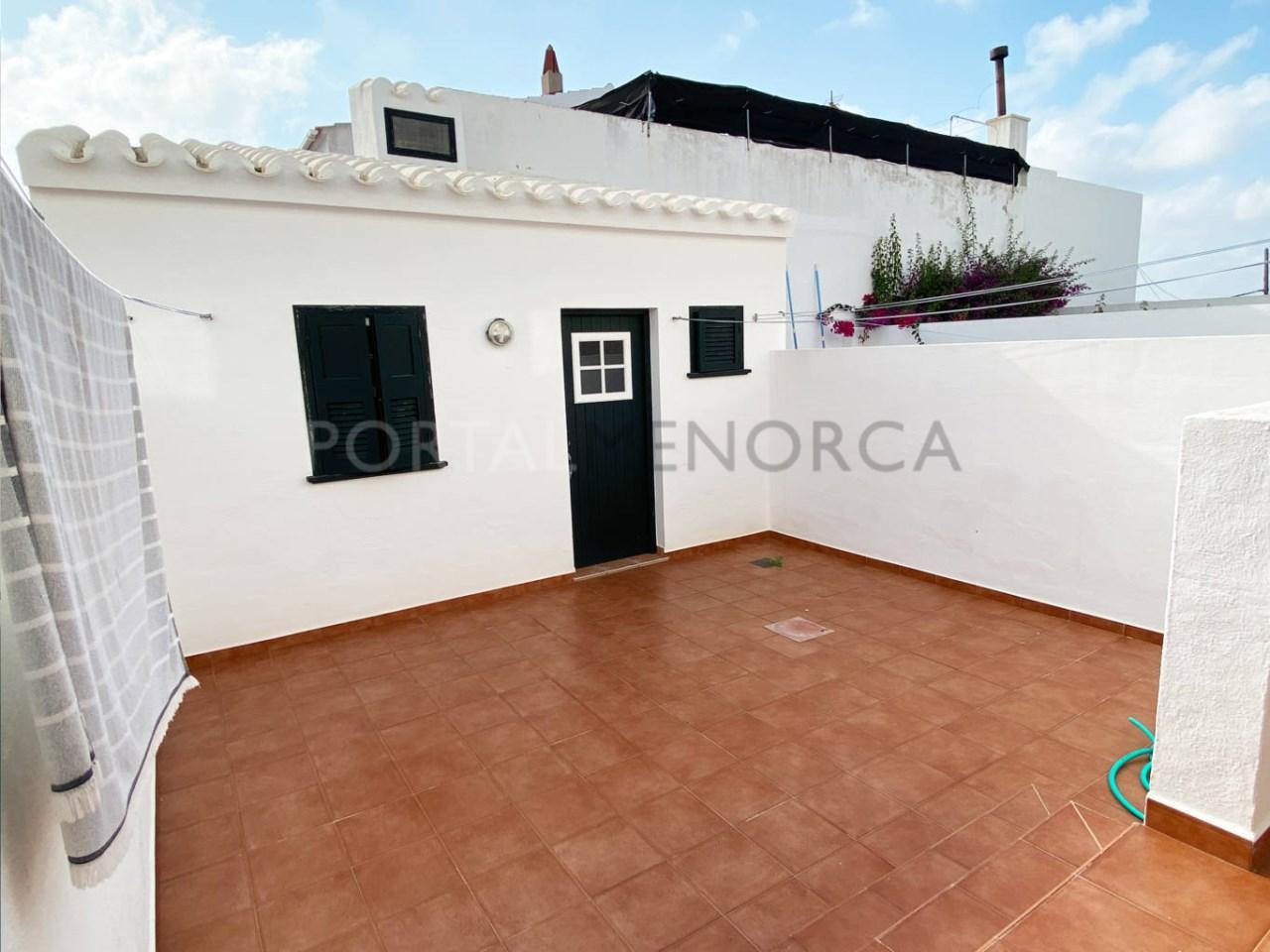 Duplex in Fornells_terrace