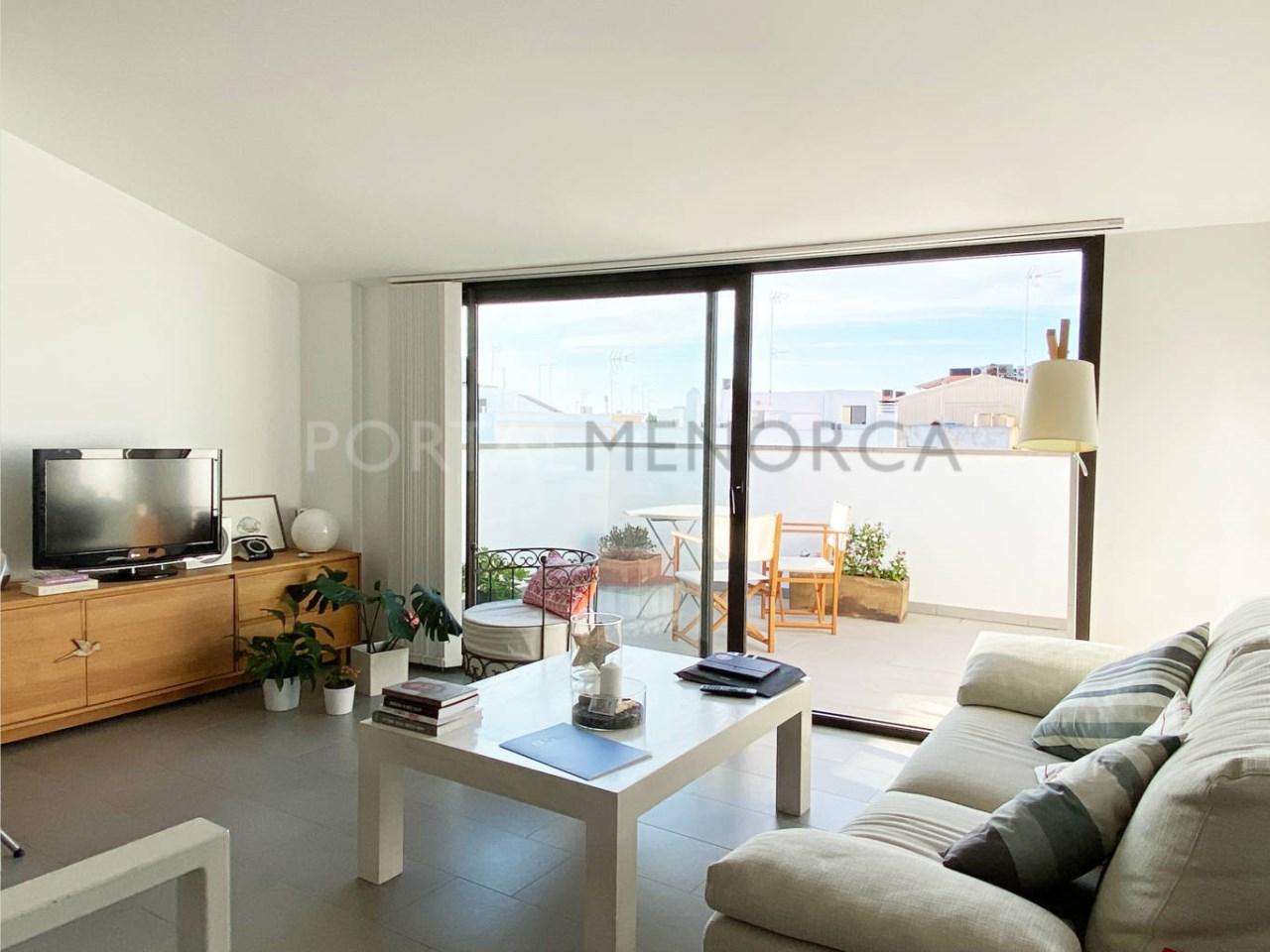 Flat in Ciutadella_living room