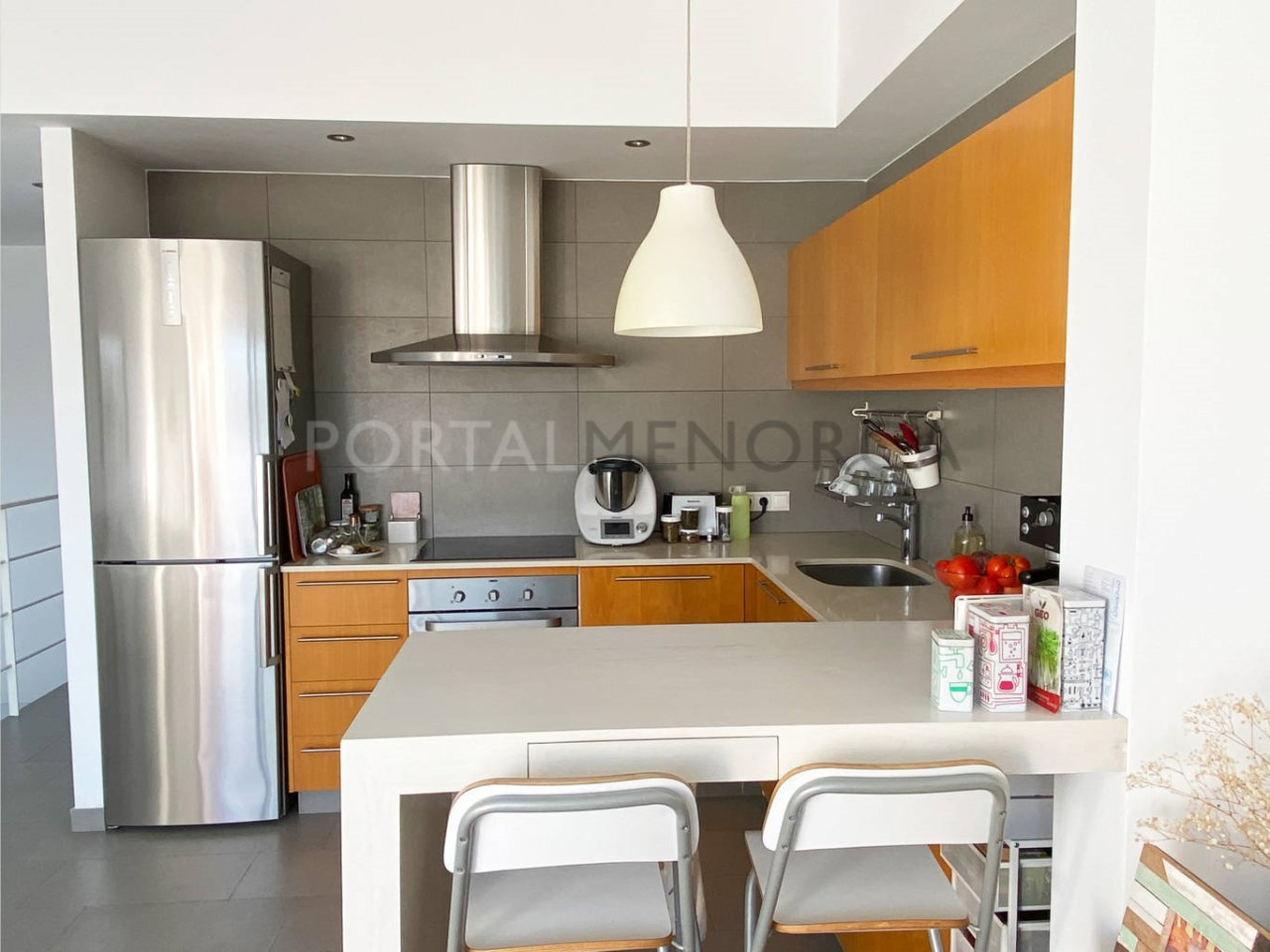 Flat in Ciutadella_kitchen