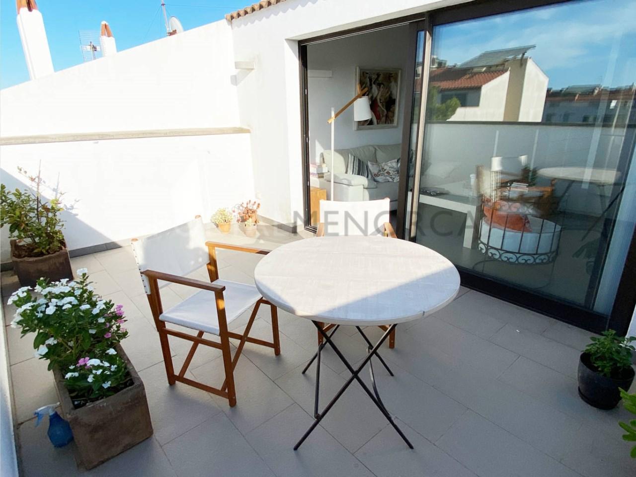 Flat in Ciutadella_terrace