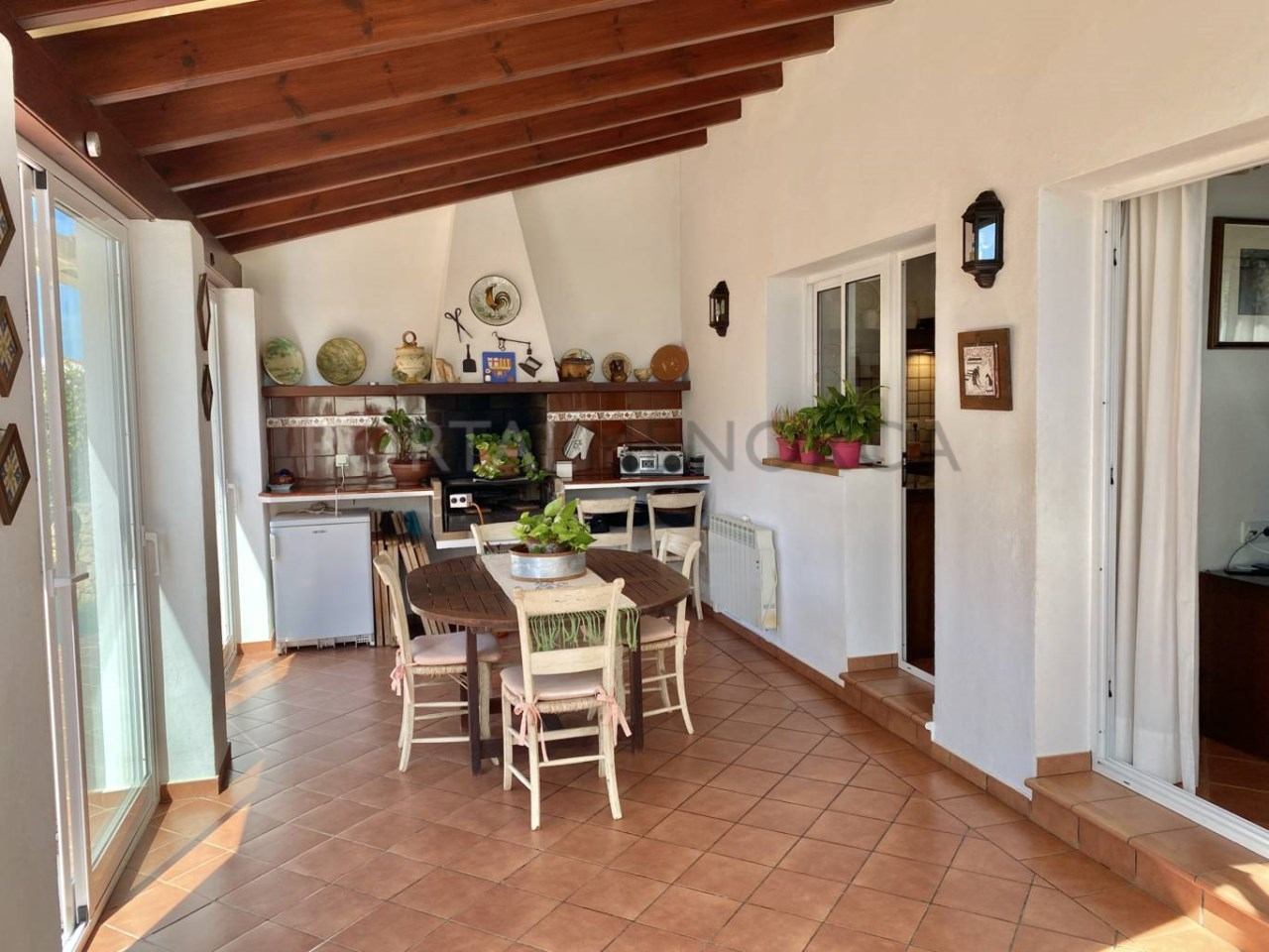 Villa with swimming pool in Sa Caleta