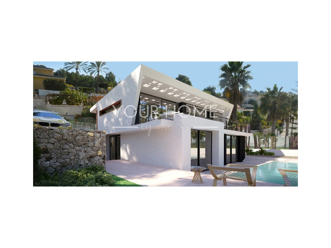 Neue moderne Villa