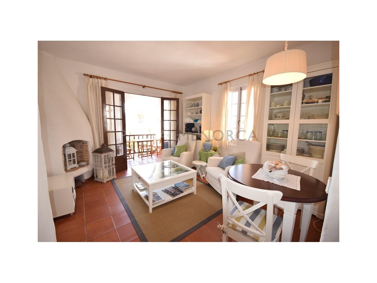 Apartment for sale Playas de Fornells living room