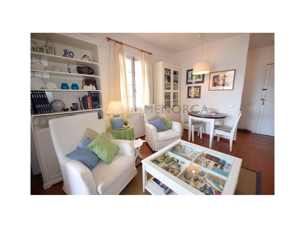Playas de Fornells living-dining room