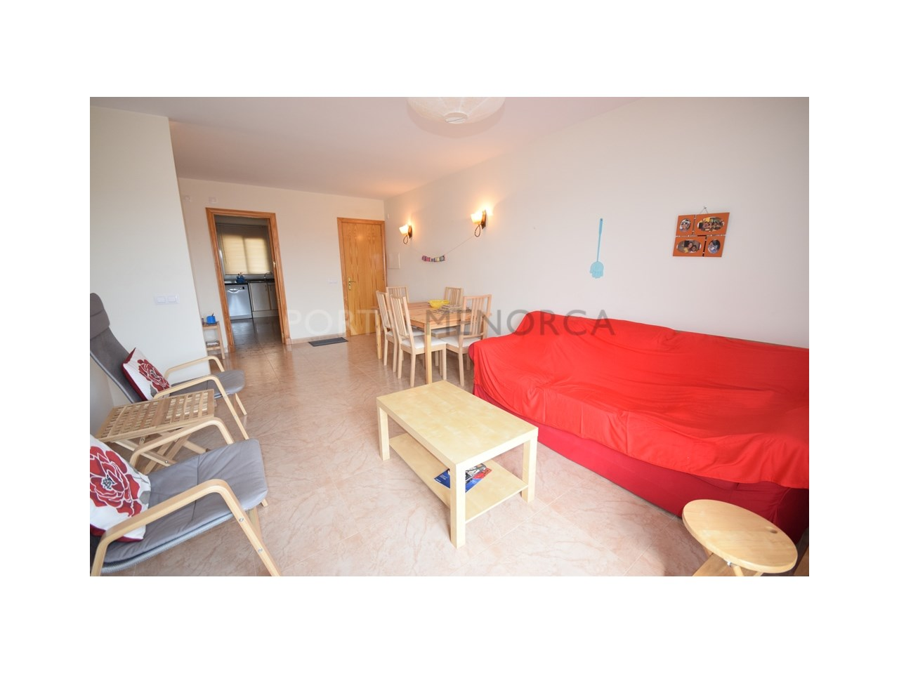 Flat with countryside views in Es Migjorn Gran.