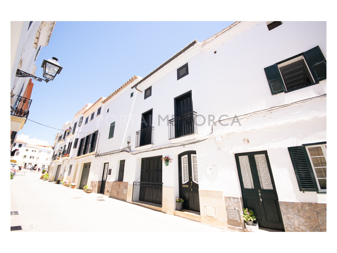 Refurbished townhouse in Ferreries.