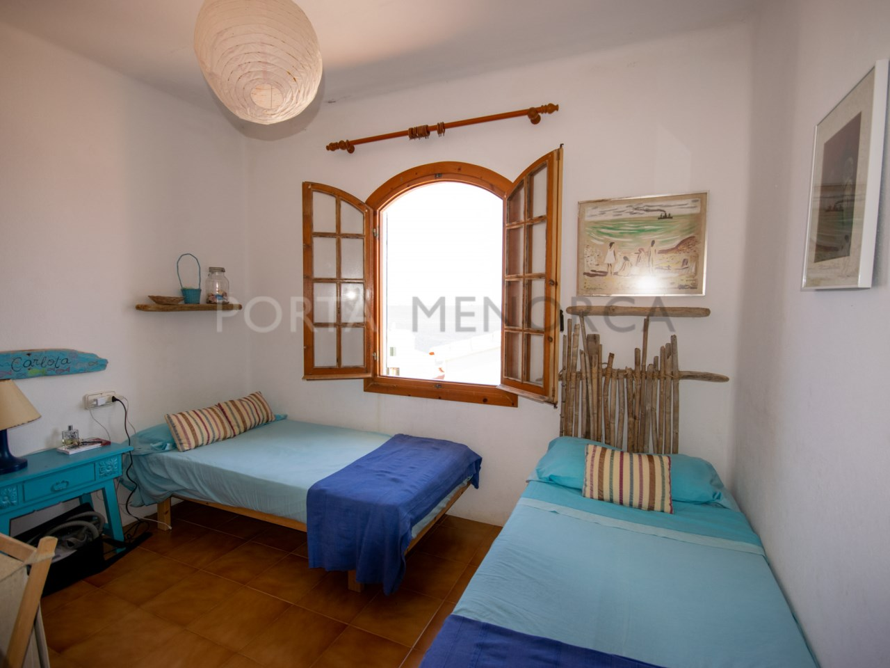 Dormitorio doble con armario (2)
