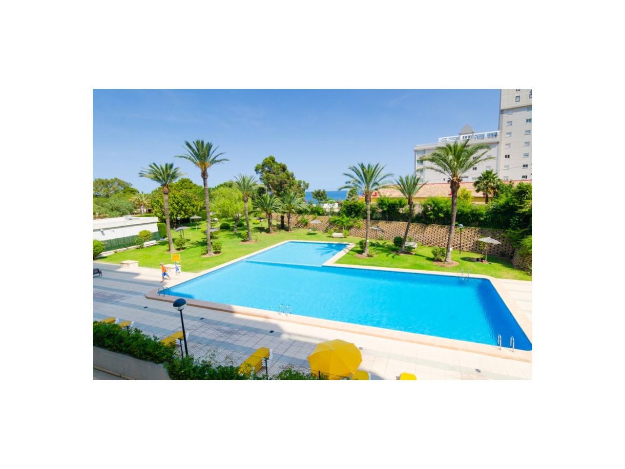 Apartamento En Primera Línea De Playa Levante Calpe
