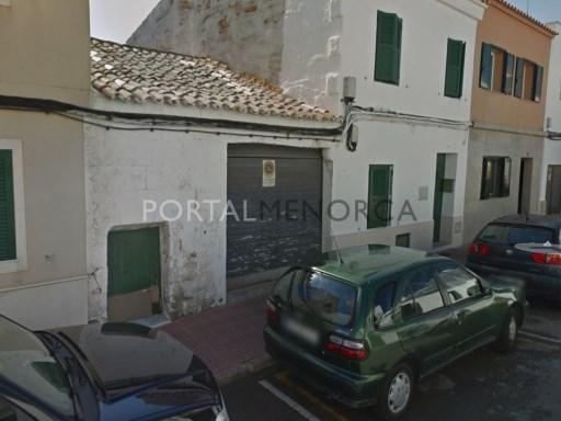 Bauparzelle in Es Castell Ref: M8611 1
