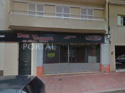 Local commercial à Mahón Ref: M8318 1