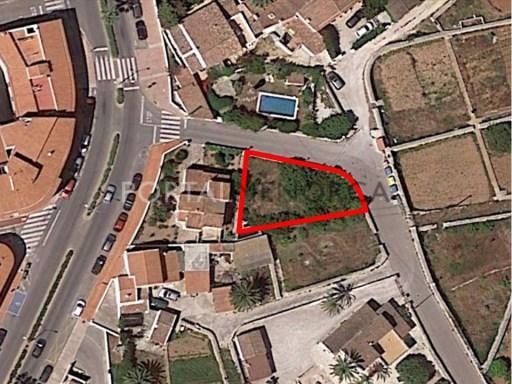 Bauparzelle zu verkaufen in Sant Lluís - V2694