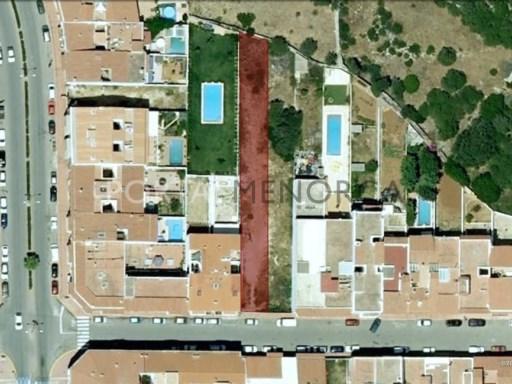 Bauparzelle zu verkaufen in Sant Lluís - S1482