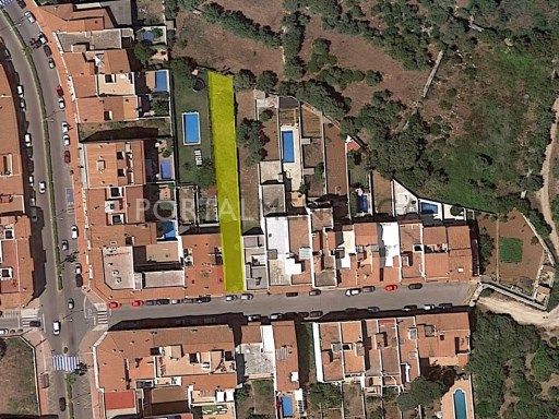 Parcela en Venta en Sant Lluís - S1482