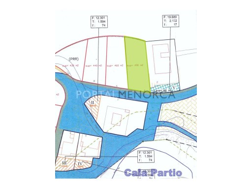 Plot in San Antonio - Cala Rata Ref: V1102 1