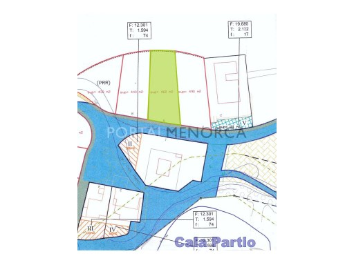 Plot in San Antonio - Cala Rata Ref: V1103 1