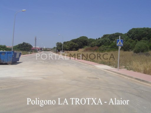 Industrial Plot in Alaior Ref: V1229 1
