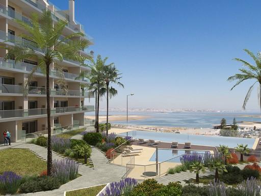 T3 com terraço e vista de Lisboa em ...