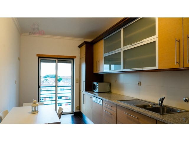 For sale 3 bedroom apartment in the center of Alcochete with magnificent view of the Tagus River Alcochete