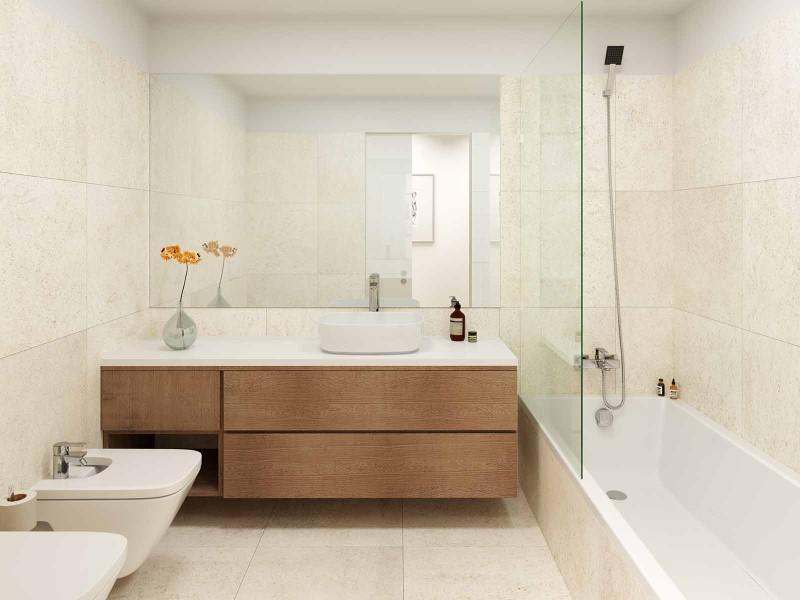 Salle de bain - option montagne