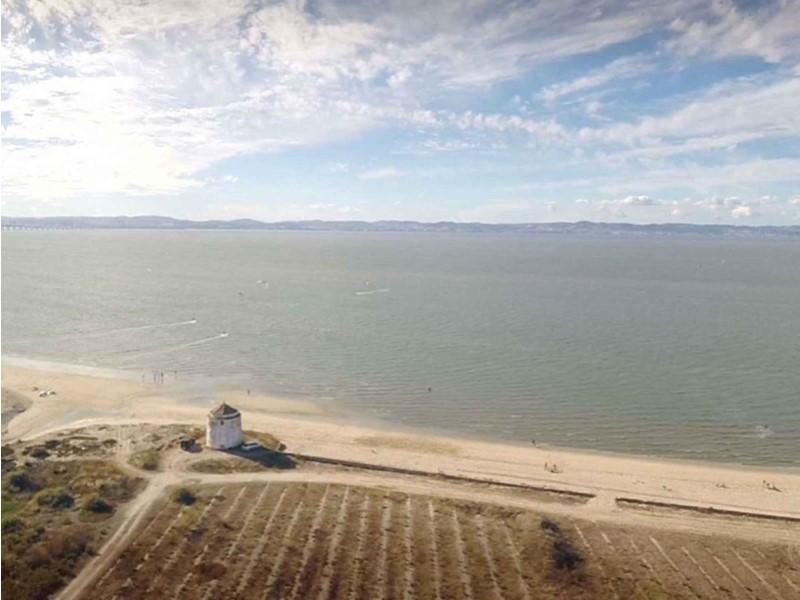 Praia dos Moinhos Alcochete- plage des moulins