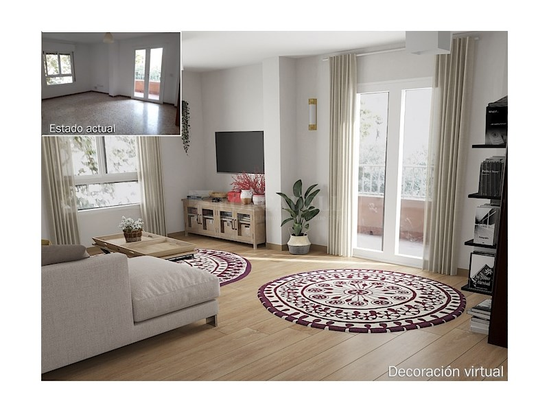 Large flat for sale in Palma 2