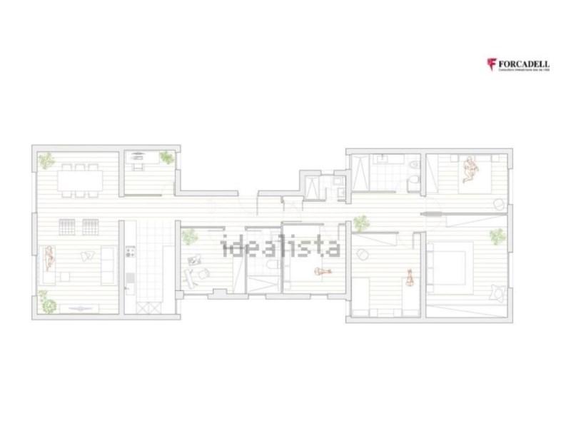Pis en venda de 165m² en el barri de l'Eixample 35