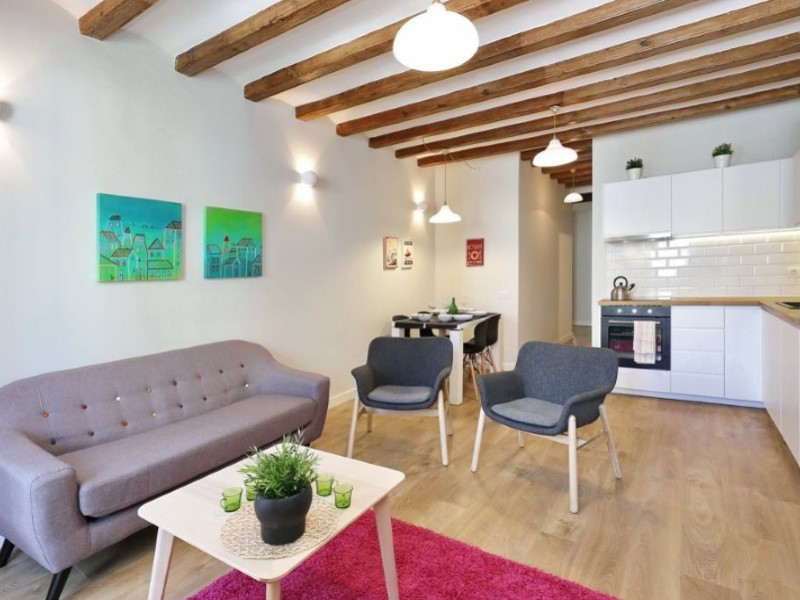 Renovated apartment in the neighborhood of Poble-sec