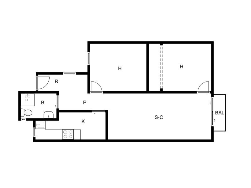 Acollidor pis reformat en venda situat al carrer Galileu 30