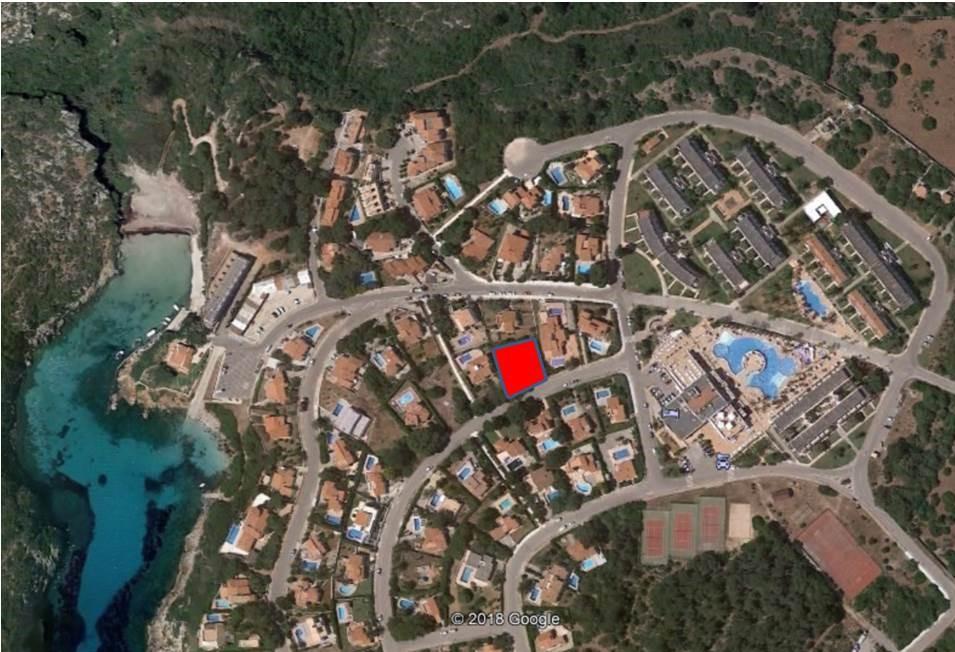 Plot in Cala Canutells Ref: V2774 1