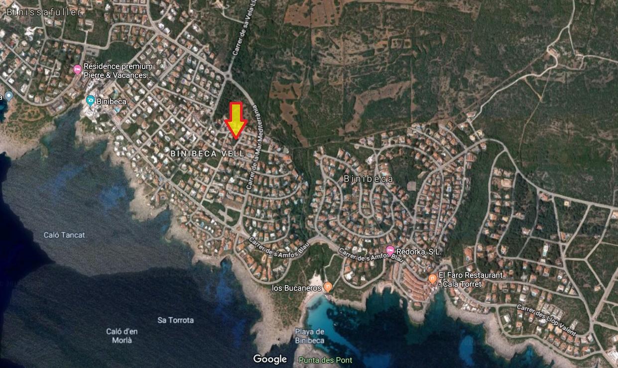 Plot in Binibeca Vell Ref: S2794 2