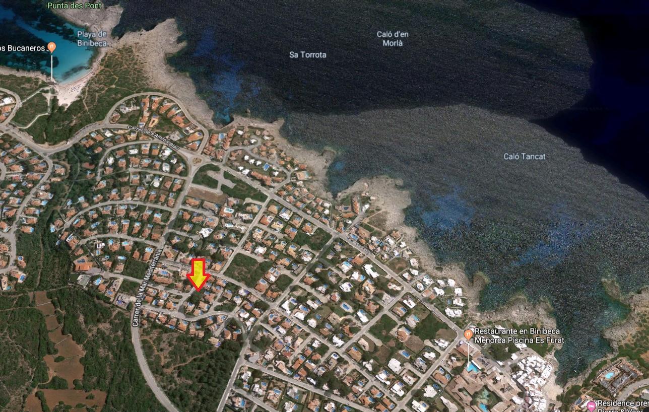 Plot in Binibeca Vell Ref: S2794 3