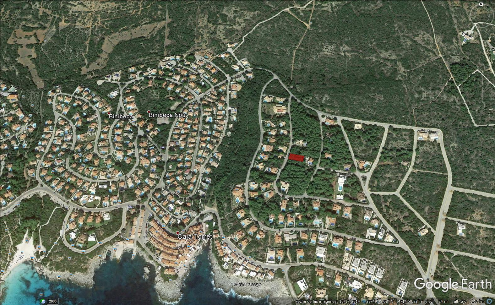 Plot in S'Atalaia Ref: S168 1