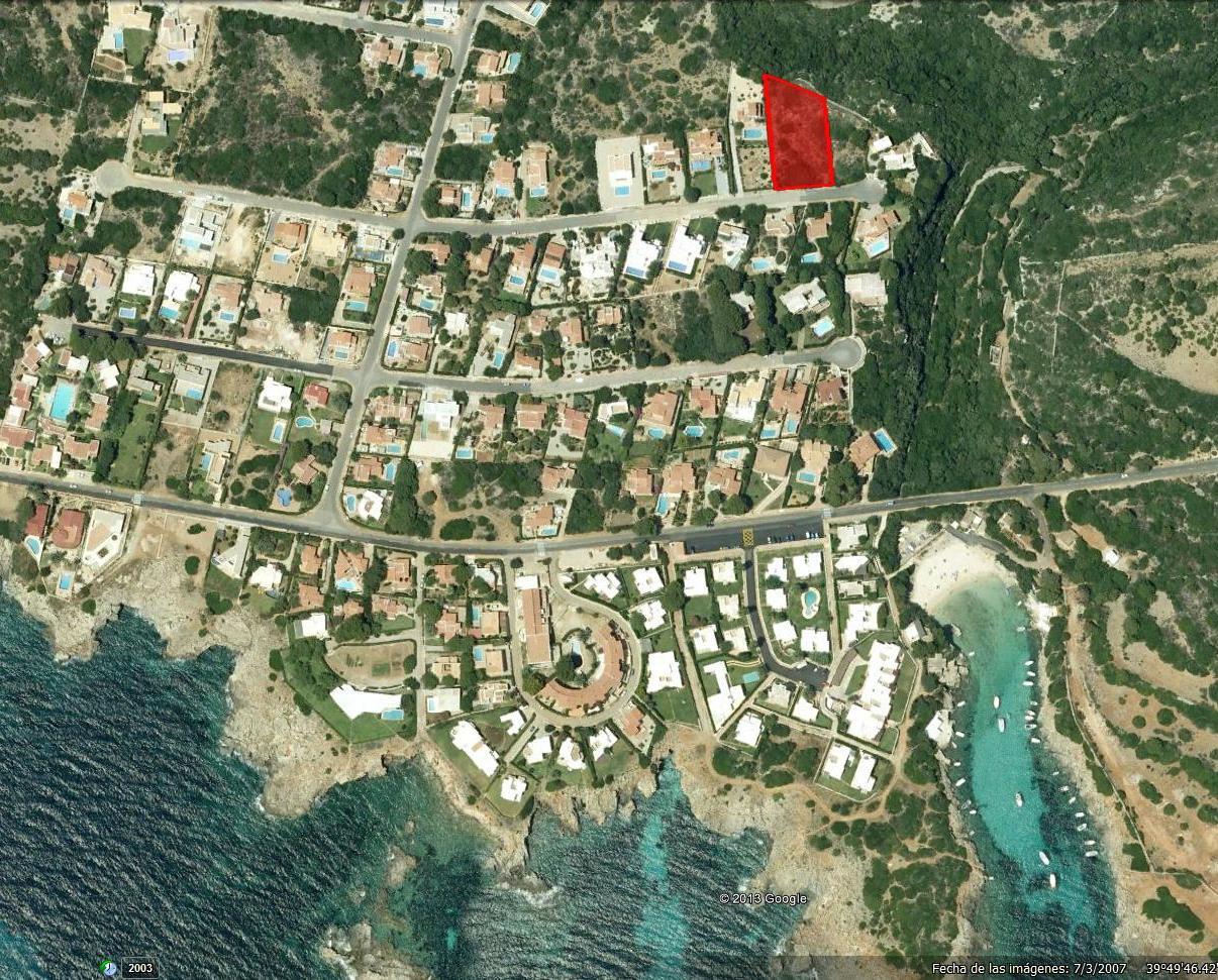 Parcela en Binisafua Playa Ref: S597 1