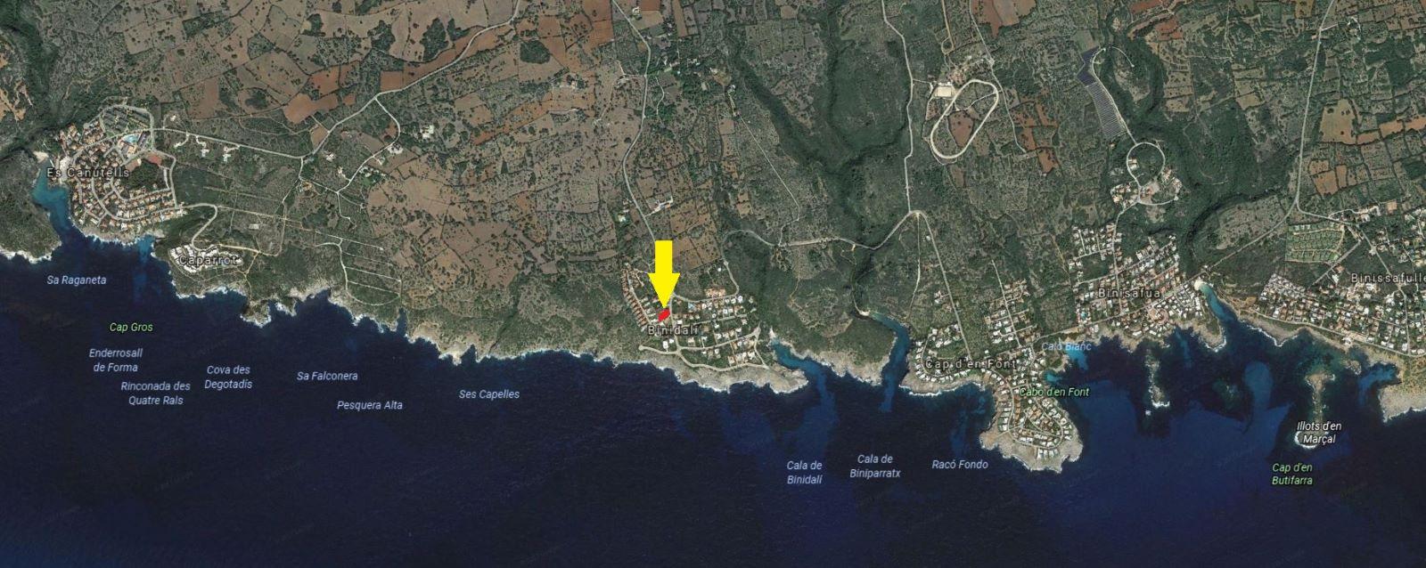 Parcela en Binidali Ref: S511 2
