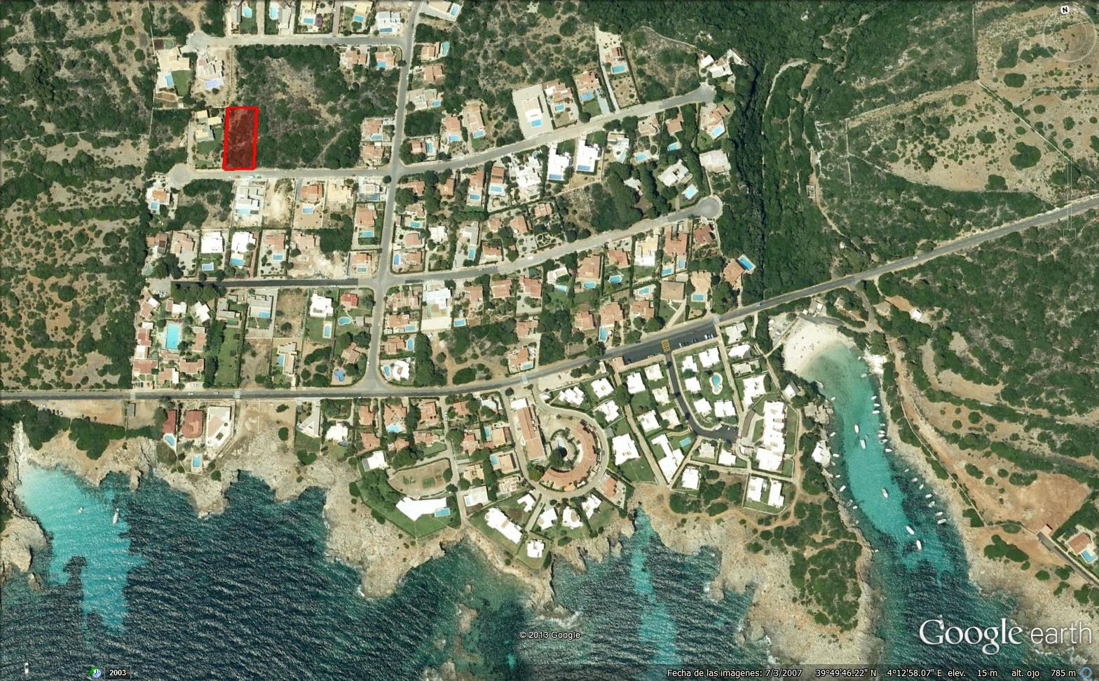 Bauparzelle in Binisafua Playa Ref: S752 1
