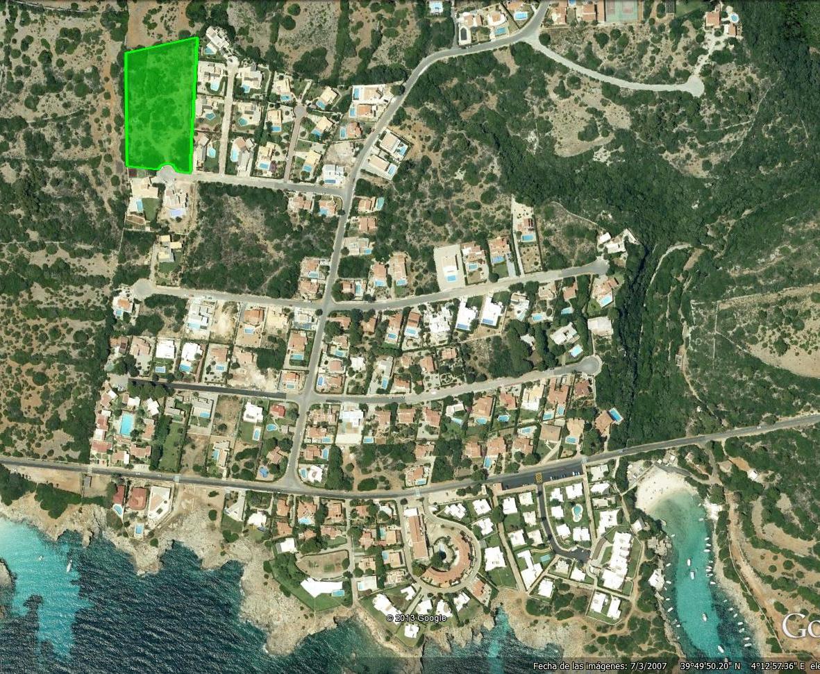 Bauparzelle in Binisafua Playa Ref: S1041 1