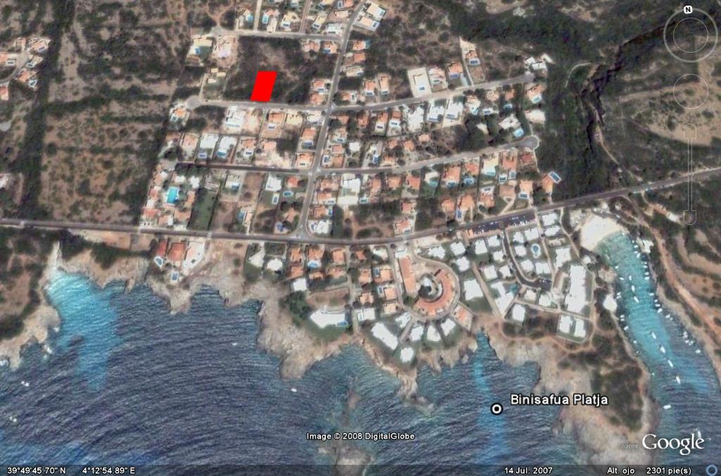 Bauparzelle in Binisafua Playa Ref: S1290 1