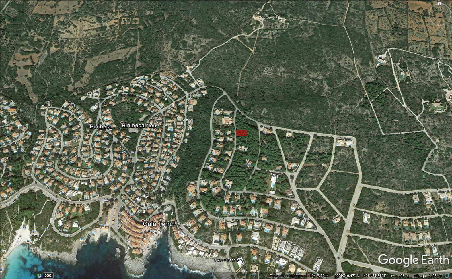 Plot in S'Atalaia Ref: S164 1