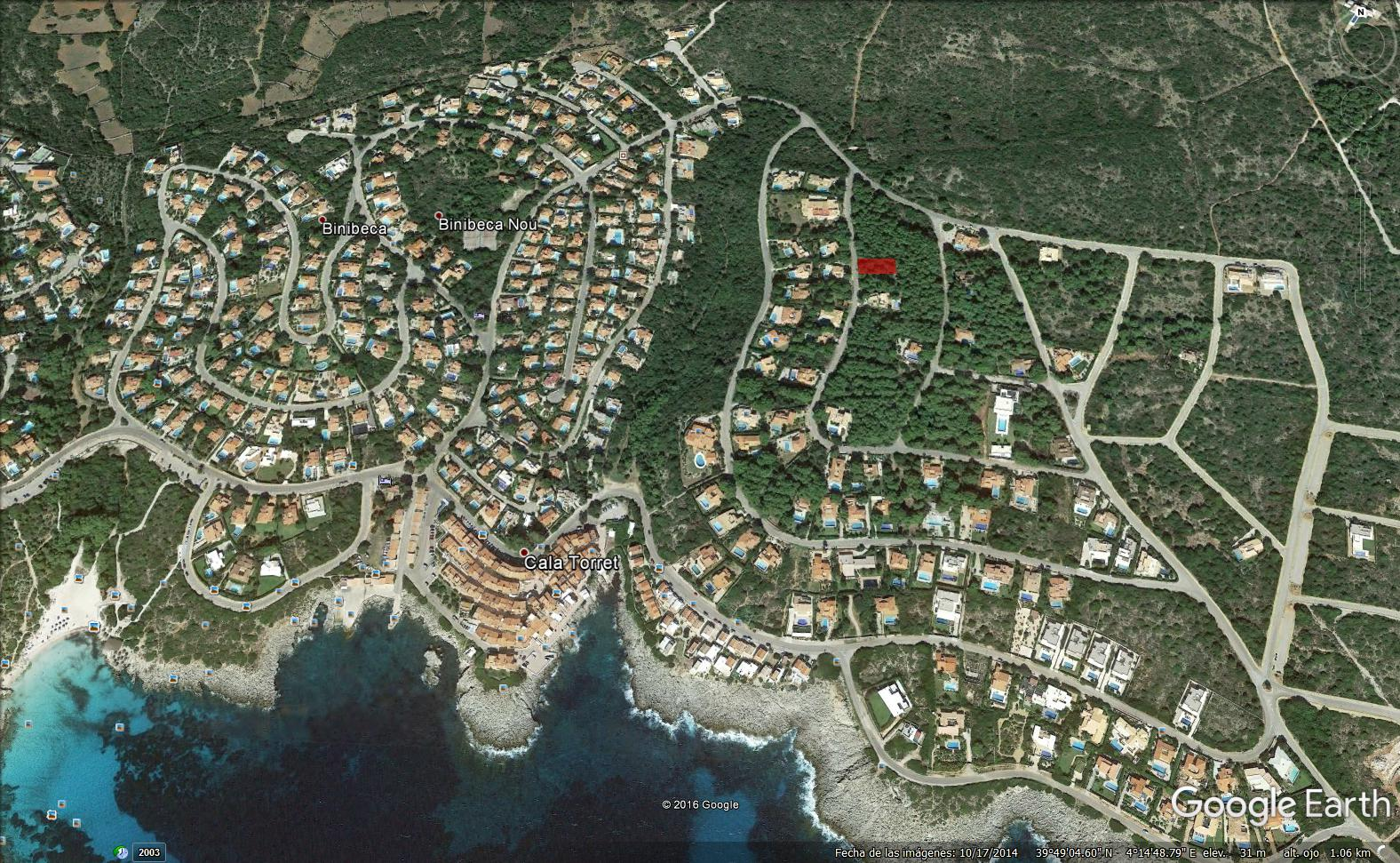 Plot in S'Atalaia Ref: S165 1