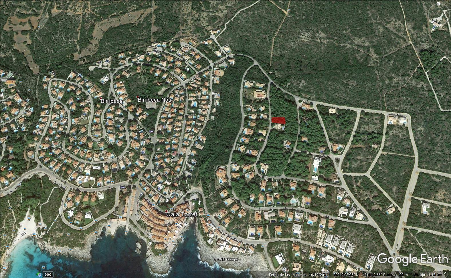 Plot in S'Atalaia Ref: S166 1