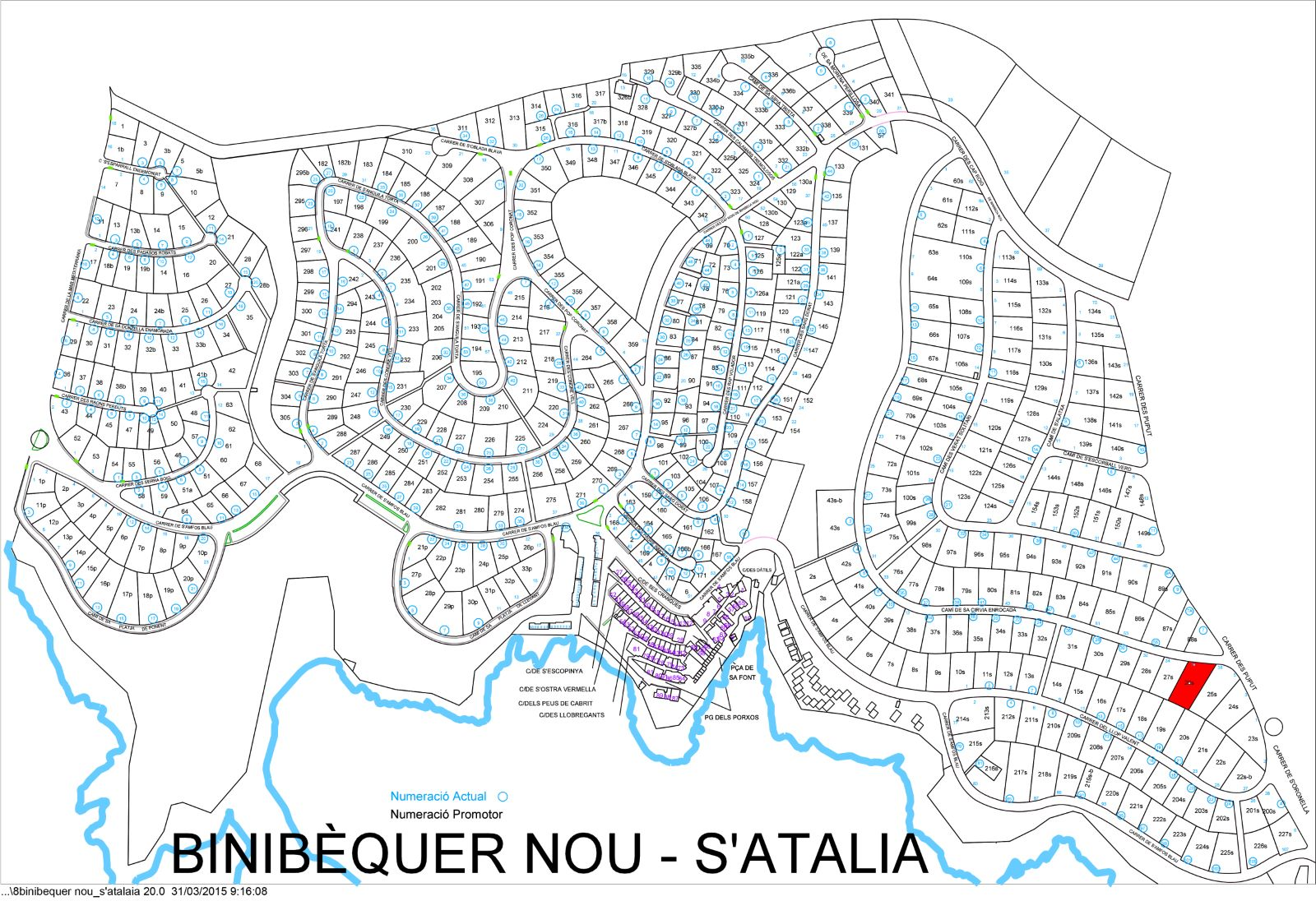 Plot in S'Atalaia Ref: S101 5