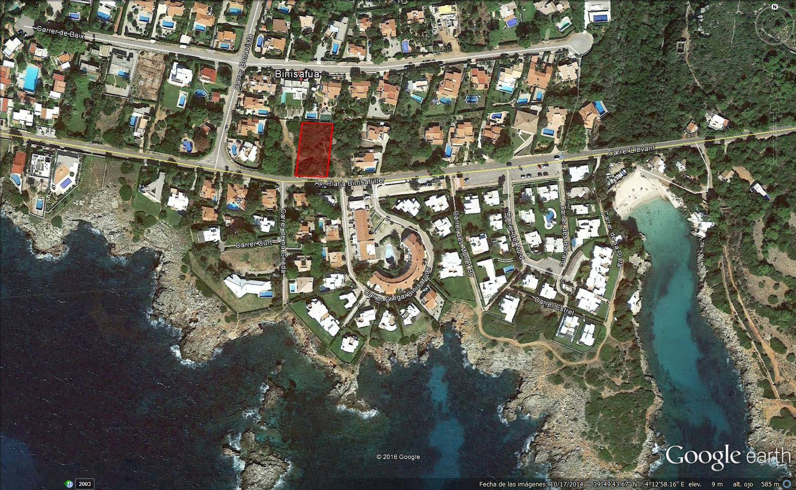 Plot in Binisafua Playa Ref: S2427 1