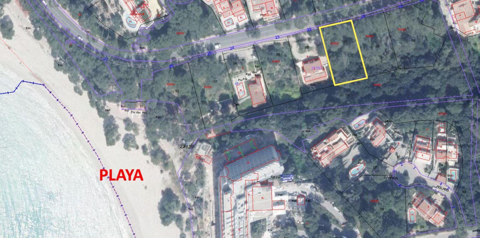 Plot in Cala Galdana Ref: S2460 11