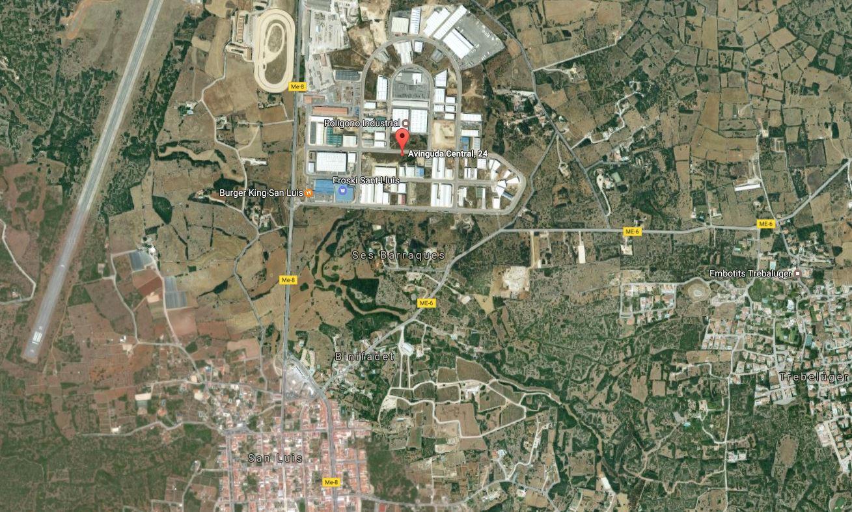 Bauparzelle gewerblich in Sant Lluís Ref: S2478 3