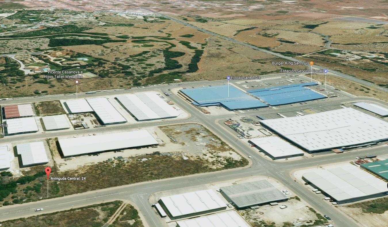 Bauparzelle gewerblich in Sant Lluís Ref: S2478 2